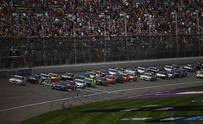 NASCAR at Michigan Preview: Larson On Pole for the FireKeepers Casino 400