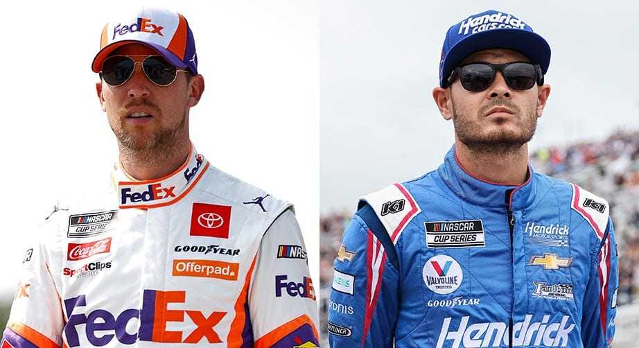 Kyle Larson and Denny Hamlin are only separated by 28 points as we head into the final race of the regular season.