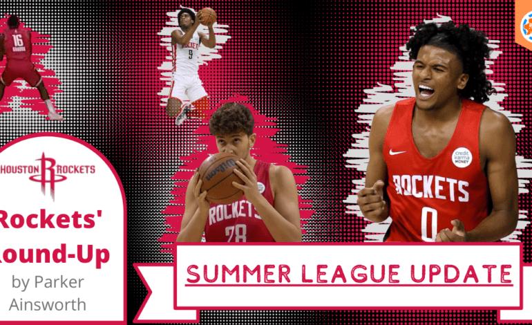 Houston Rockets' Round-Up: Summer League Update