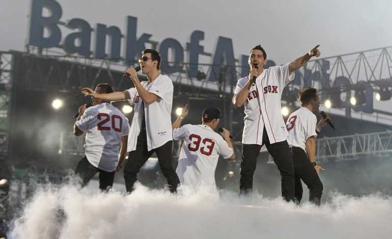 Red Sox Hosted New Kids on the Block at Fenway Park