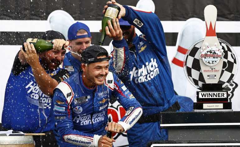 NASCAR at Watkins Glen Recap: Larson Grabs His Fifth Win of the Season