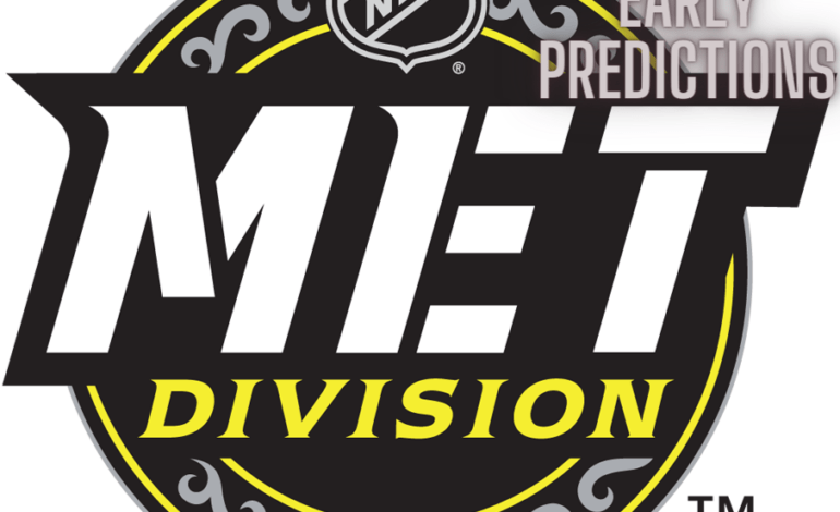 Way Too Early Prediction Time: Metropolitan Division