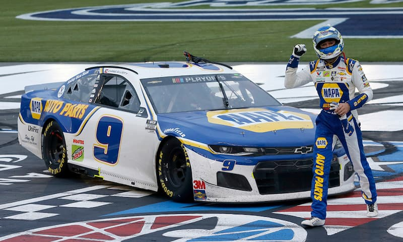 Chase Elliott has won the last two races at the Charlotte Roval.