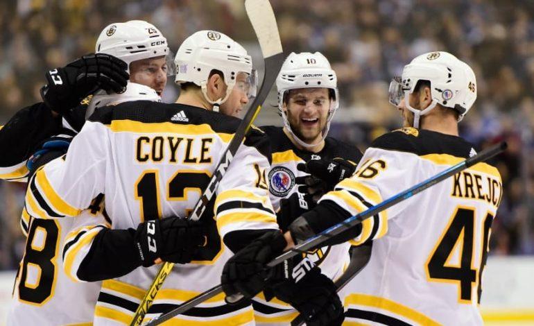 Bruins Second Line Center