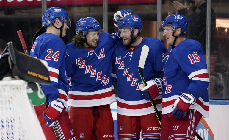 Panarin Leads Rangers by Bruins