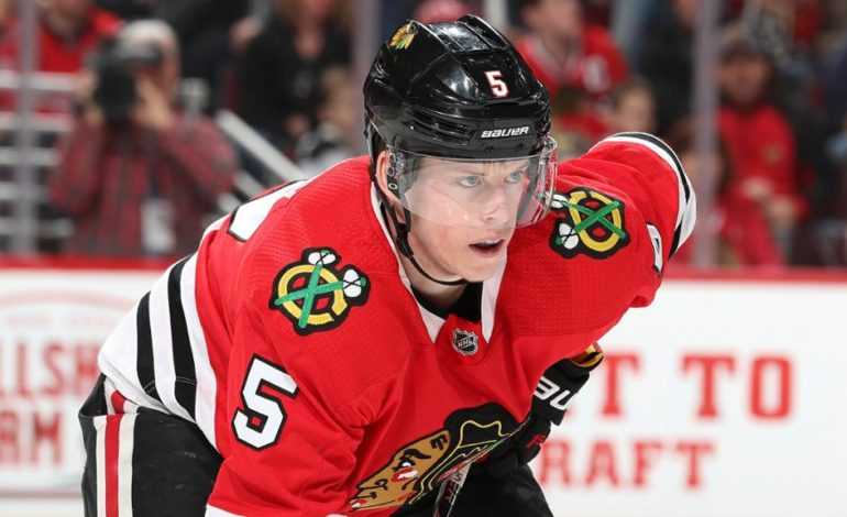 Blackhawks, Murphy Agree to Four-Year Extension