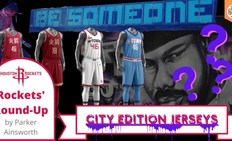Houston Rockets' Round-Up: City Edition Jerseys