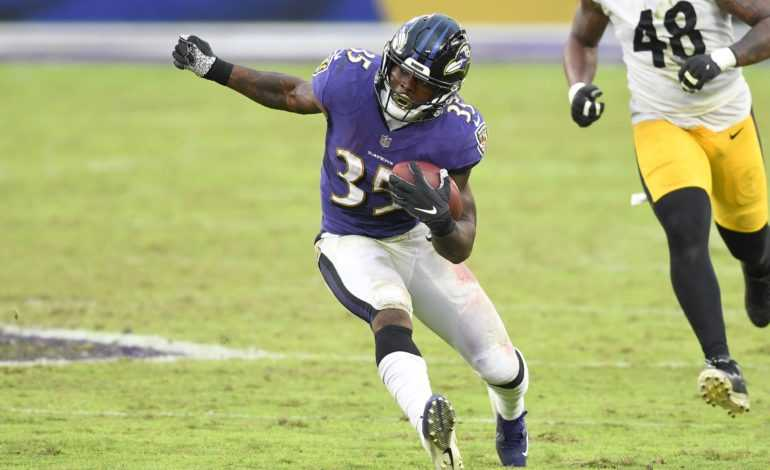 The Curse of Being a Ravens Running Back in 2021