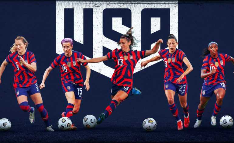 """The 2021 USWNT Olympics """"pictured here"""""""