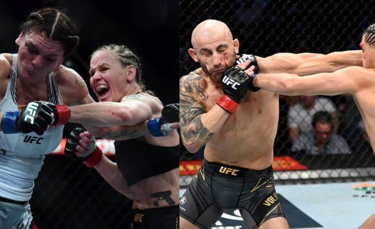 UFC Champions Retain Titles At UFC 266