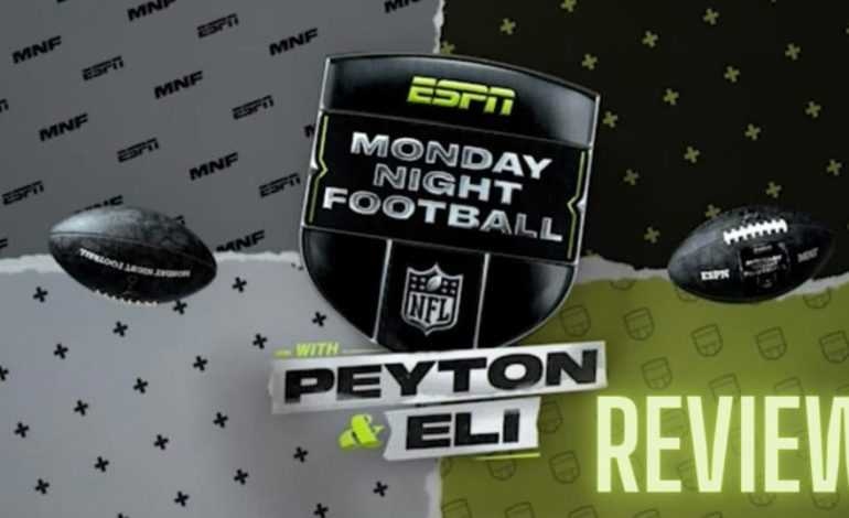 Reviewing MNF with Peyton and Eli