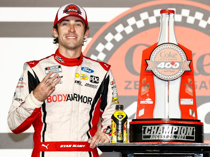 Ryan Blaney has three wins on the season. Two of them being back-to-back!