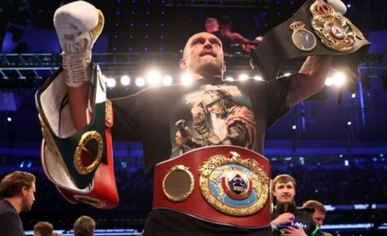 Usyk Flips Boxing World; Nears All-Time Status