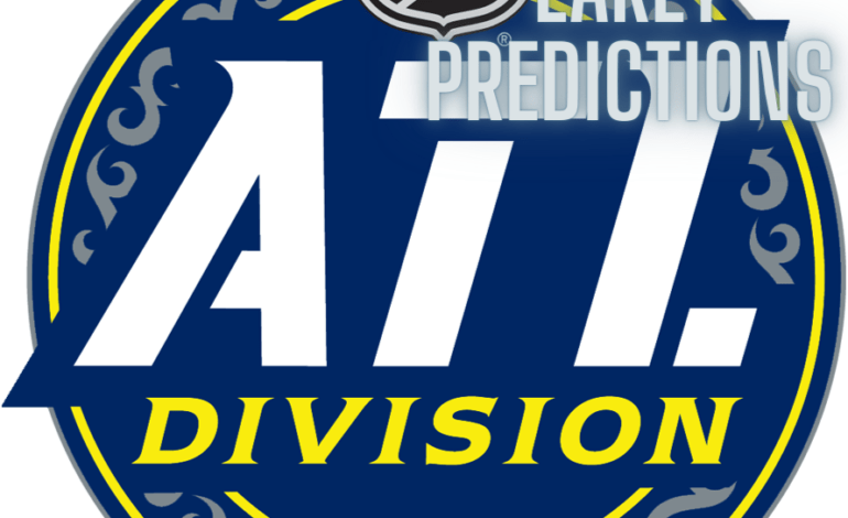 Way Too Early Prediction Time: Atlantic Division
