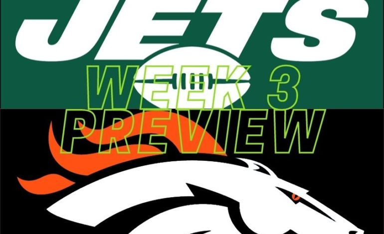 NFL Week 3: Jets at Broncos