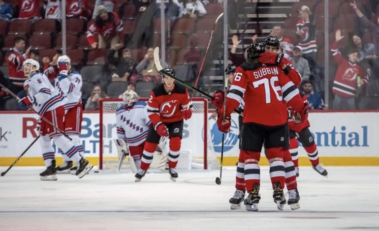 Rangers Get Crushed by Devils