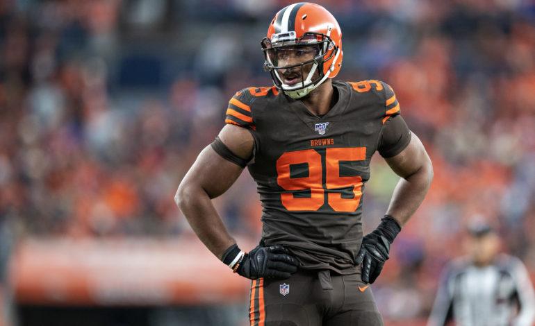 "Sadly, The NFL Forced Myles Garrett To Retire ""Sleeveless Myles"""